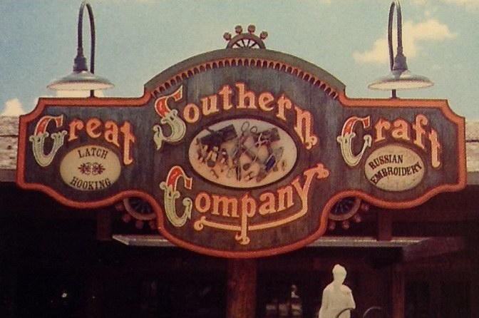 Great Southern Craft Company sign at Walt Disney World Village