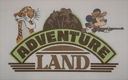 Walt Disney World Magic Kingdom Adventureland logo