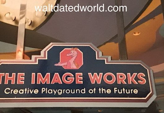Image Works sign epcot