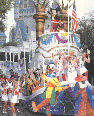 Disney Character Hit Parade