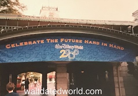 Disney Celebrate the Future Hand in Hand banner