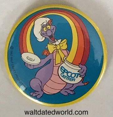 Epcot Daredevil Circus Button
