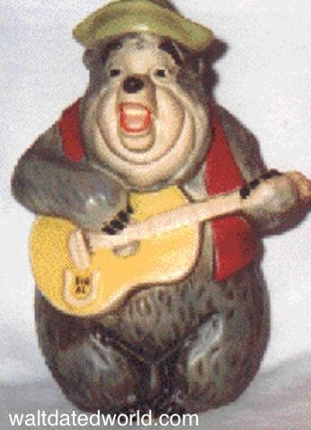 Country Bear Big Al bank