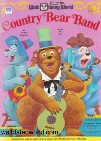 Country Bear punch out book