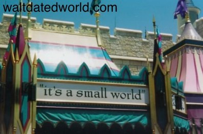 Former entrance to It's a Small World Walt Disney World