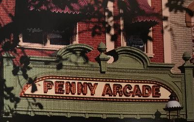 Walt Disney World Penny arcade sign