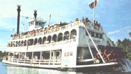 Admiral Joe Fowler Riverboat