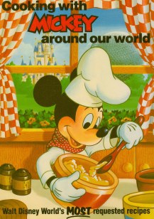 Cooking With Mickey Walt Disney World recipes