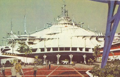 Space Mountain concept artwork