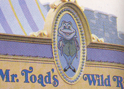 Original entrance to Mr. Toad's Wild Ride