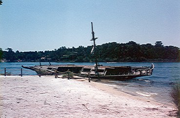 Discovery Island shipwreck