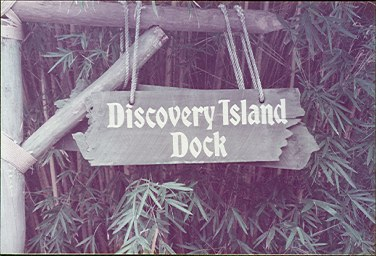 Discovery Island dock