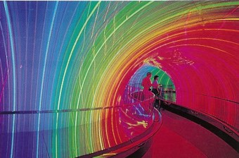 Image Works rainbow tunnel