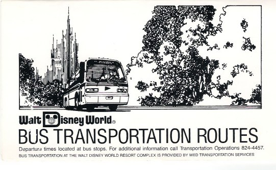 Walt Disney World Bus Routes
