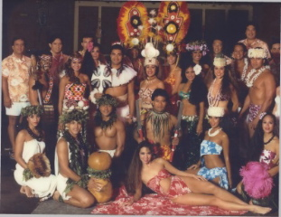 Polynesian Resort luau cast