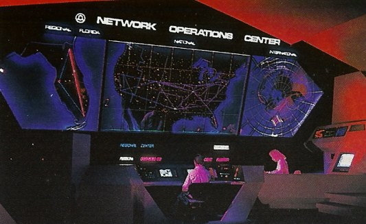 Spaceship Earth Network Operations Center