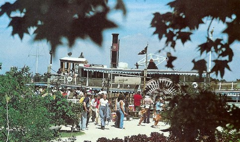 Arrival on Discovery Island