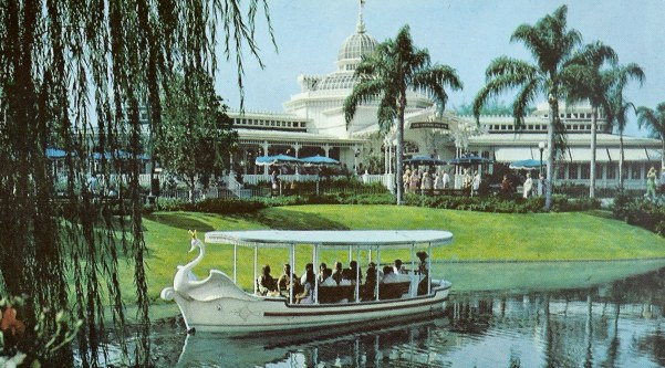 Swan Boat by Crystal Palace