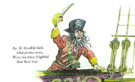 Marc Davis Pirate postcard 1