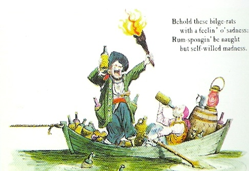 Marc Davis Pirate postcard 4