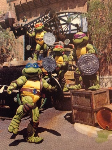 Teenage Mutant Ninja Turtles at Disney MGM Studios
