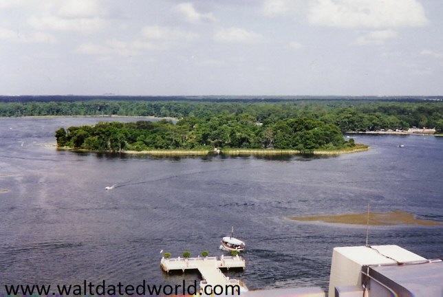 View of Discovery Island from Contemporary Resort