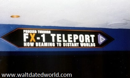 Space Mountain FX-1 teleport