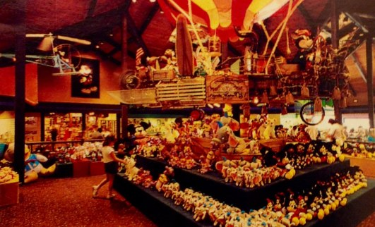 Mickey's Character Shop Right Side of Airship